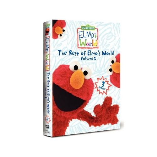 Have your favorite Elmo episodes at your finger tips with this Sesame Street The Best Of Elmo's World Volume 2 DVD.