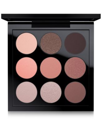 Show the world your true colours with an eye-catching new palette of Eyes x 9, in shades from light taupe to mid-tone rose and passionate deep brown. Textures from matte to velvet to frost for looks f