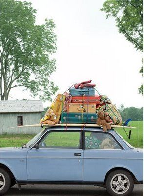 Suitcase Packing, Car