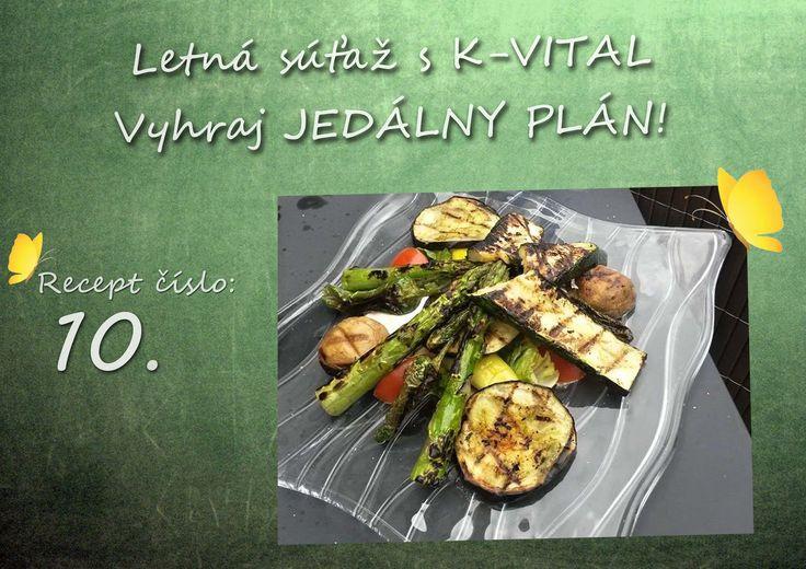 Grilovaná zelenina od Ja Blonky