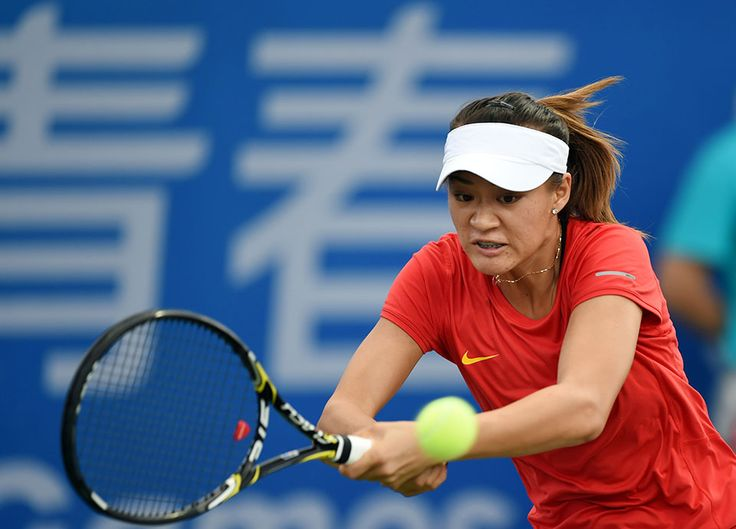 Xu Shilin of China in the Tennis Women's Singles   Olympic Photo