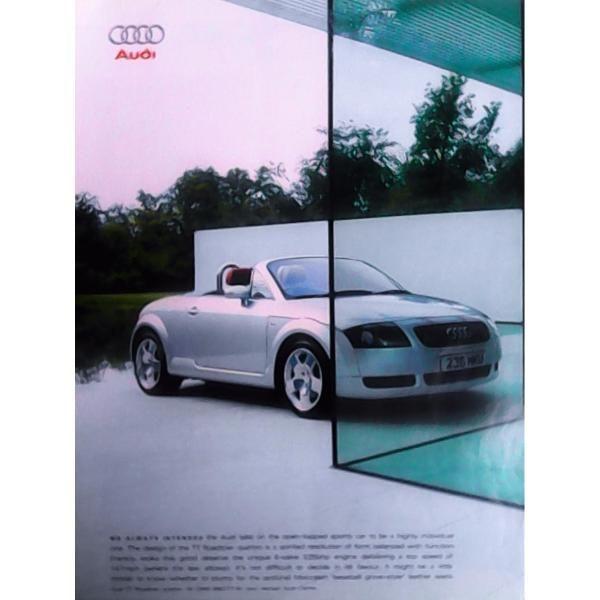Nice Audi: Audi Tt Roadster 2001. Anuncio Publicitario De Colección...  Audi TT Roadster 2001 (aprox). Anuncio publicitario coleccionable a dos páginas Check more at http://24car.top/2017/2017/08/13/audi-audi-tt-roadster-2001-anuncio-publicitario-de-coleccion-audi-tt-roadster-2001-aprox-anuncio-publicitario-coleccionable-a-dos-paginas/