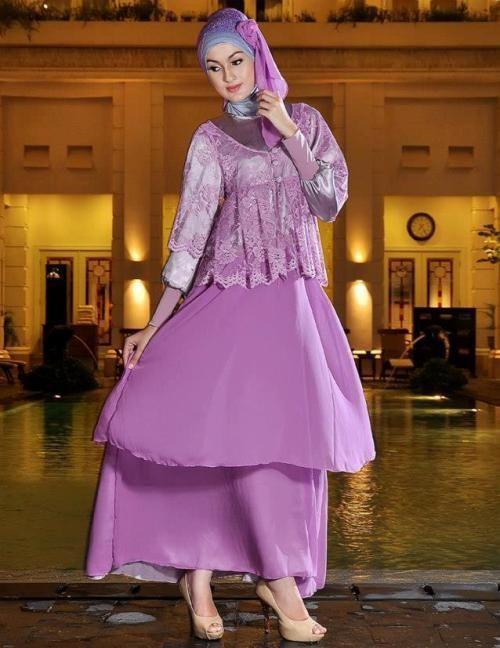 model baju muslim pesta 2017