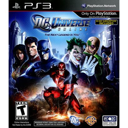 DC Universe Online PRE-OWNED (PlayStation 3)
