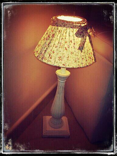 Shabby chic - My lovely Lamp shabby chic