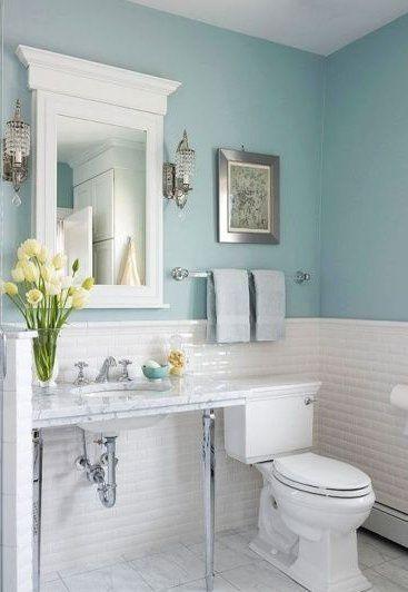 25 best ideas about light blue bathrooms on pinterest - Light blue bathroom ideas ...