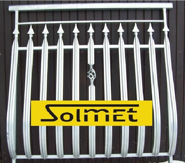SZTACHETY METALOWE balkon TRALKI balaski profile