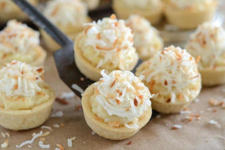 Recipe: Coconut Cream Pie Cookie Cups