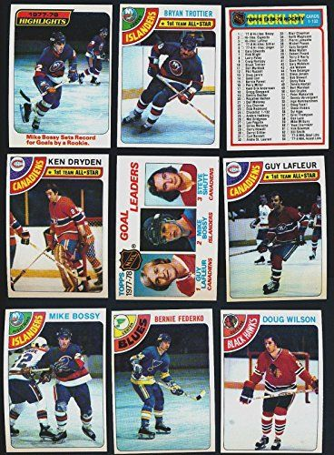 1978 - 79 TOPPS HOCKEY COMPLETE SET 264 CARDS NRMT MIKE BOSSY ROOKIE