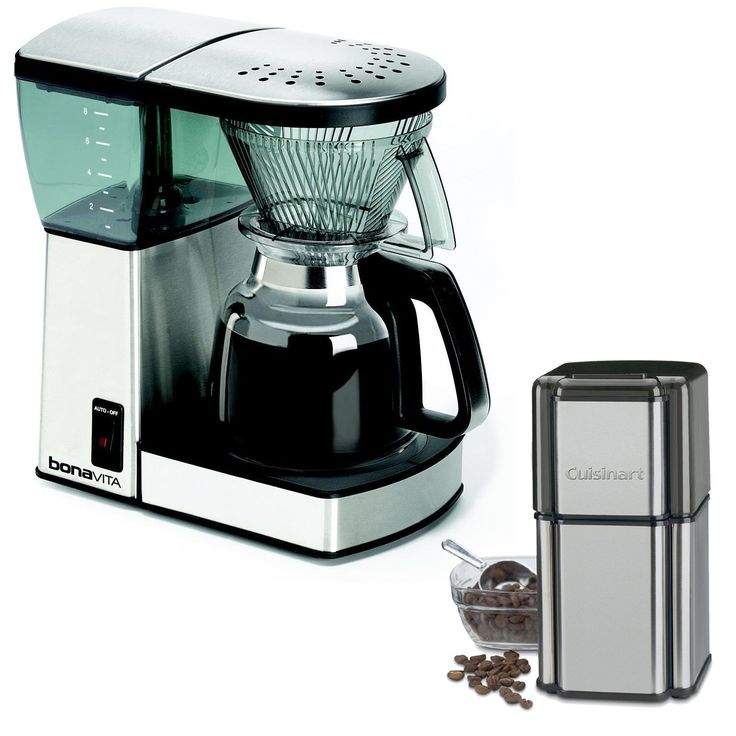 Bonavita bv1800 8cup coffee maker with glass carafe with