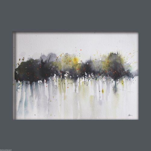 JEN BUCKLEY ART signed PRINT of my original TREES watercolour - Jen Buckley Art - 2