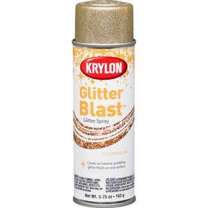 Krylon Glitter Blast, Golden Glow