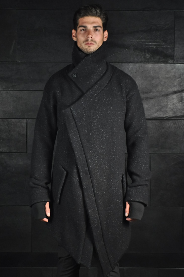 Visions of the Future // Boris Bidjan Saberi, Asymmetrical Button Up Coat