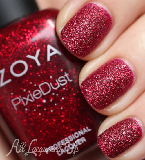 zoya chyna.  I have a searous love-on for the pixie dust/liquid sand finish polishes.  I own a TON of these.