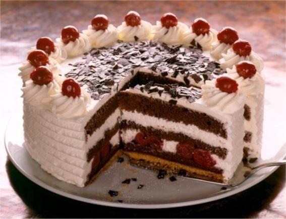 Schwarzwalder Kirsch taart recept | Dr. Oetker