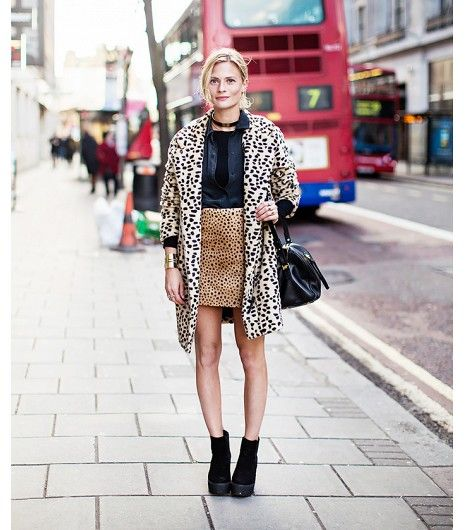 @Who What Wear - The Rule: Avoid Mixing Animal Prints                 We double dare you to double up on your favorite animal prints this weekend.    Image via Stockholm Street Style