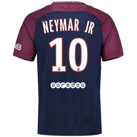 PSG Neymar Jr 10 Hjemmebanetrøje 17-18 Kort ærmer  #Billige Fodboldtrøjer