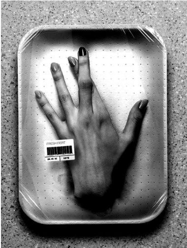 Packaged hand in A