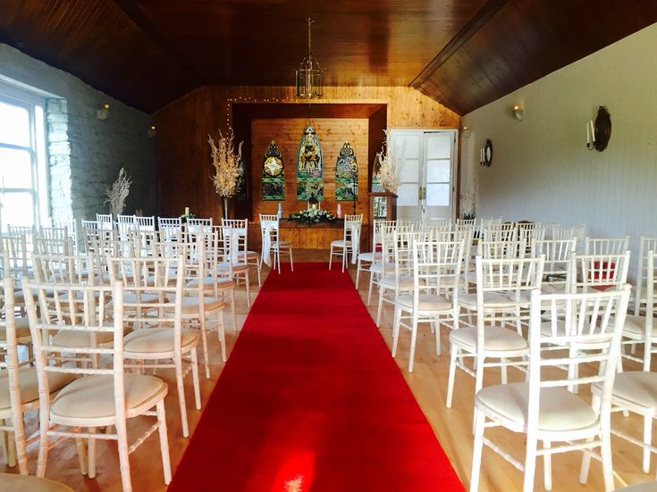 Civil ceremony room at Clonabreany House County Meath
