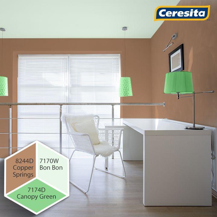 #CeresitaCL #PinturasCeresita #HomeOffice #Creatividad #Pintura #Tendencia #Estilo #Decoración #Arquitectura #Viajes #Paisajes #Inspiración *Códigos de color sólo para uso referencial. Los colores podrían lucir diferentes, según calibrado de su monitor.