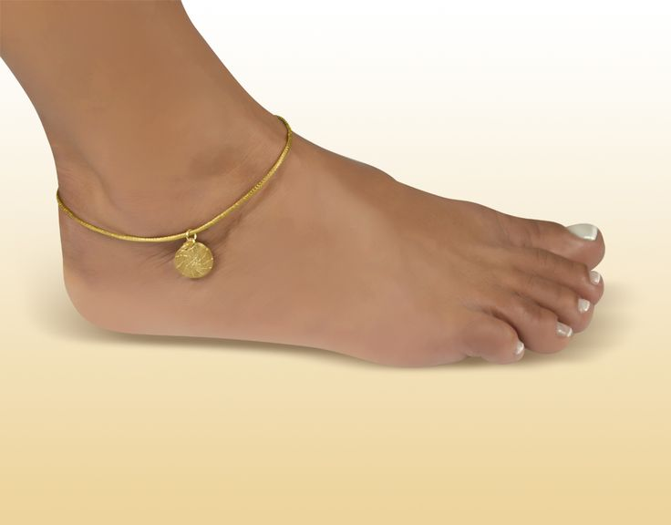 Tornozeleira Mini Mandala - Brasil Capim Dourado. Visite nossa loja virtual! http://www.brasilcapimdourado.com/eco-joias/tornozeleiras/tornozeleira-mini-mandala/
