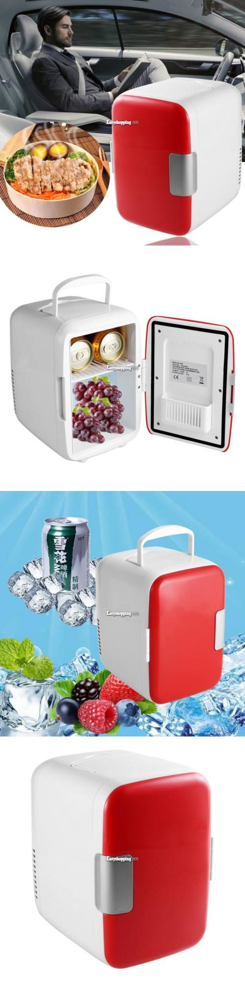 Mini Fridges 71262: Portable Mini Fridge Cooler And Warmer Auto Compact Car Boat Home Office Red -> BUY IT NOW ONLY: $30.5 on eBay!
