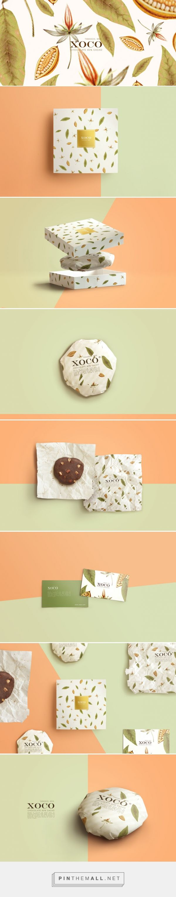 XOCO - #Mexican Craft #Chocolate #packaging designed by TORO PINTO - http://www.packagingoftheworld.com/2015/05/xoco-mexican-craft-chocolate.html