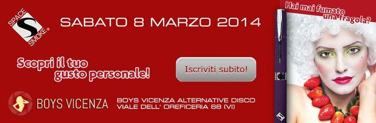 Sabato 8 Marzo 2014 al Boys Vicenza! https://www.facebook.com/events/607658865977935/