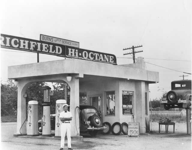 17 Best Images About Richfield Gas Stations On Pinterest