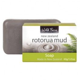 Wild Ferns Rotorua Mud Guest Soap 40g