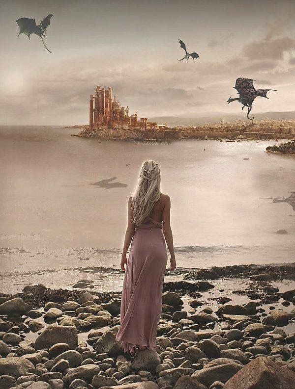 Daenerys Targaryen | The Great Khaleesi and her Dragons | Game of Thrones