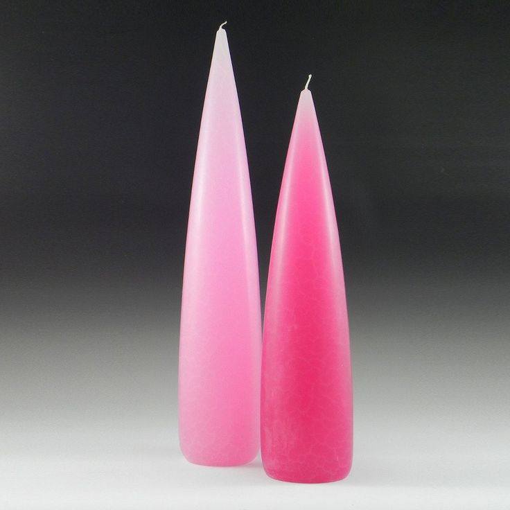 "Barrick Design - Tall & Slender Dripless Candle. Unscented, 60 hour burn, 10-14"" tall"
