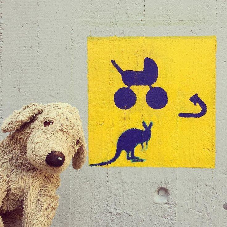 Does someone know what this graffiti could mean? I don't get it... . . #whatdoesitmean  #berlingraffiti #berlinstyle #dogsofberlin #plushielife #plushiesofinstagram #softtoysofinstagram #kuscheltier #fluffydog #fff #puppylove #graffitiofberlin #hmm #lovelaughlobilat