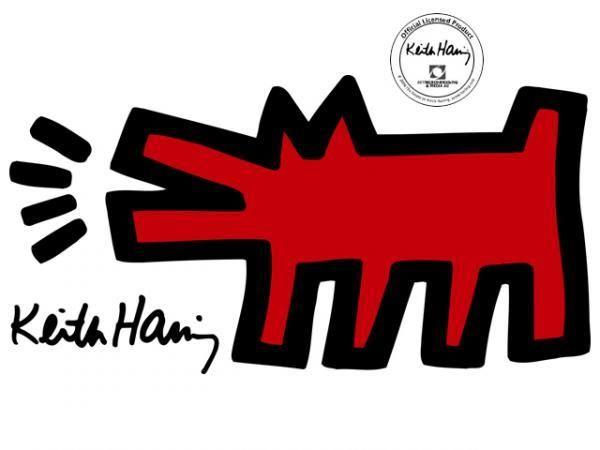Keith Haring Hund
