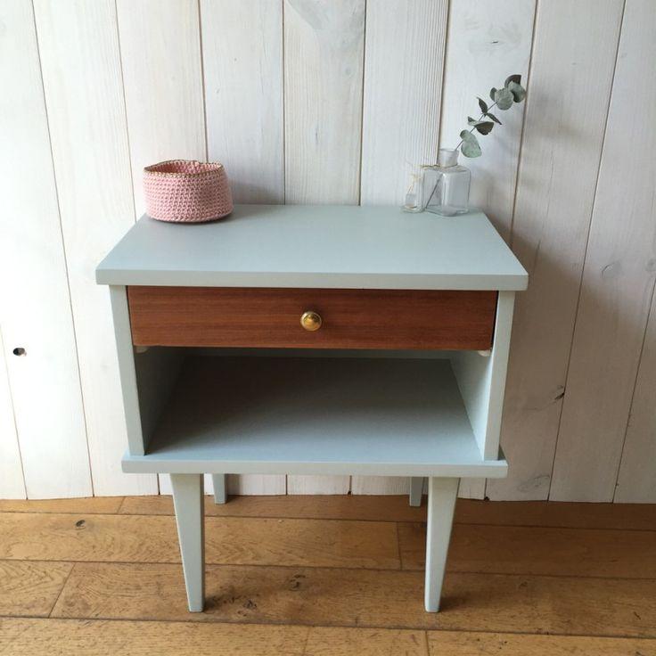 petite table de chevet vintage doccasion - Table De Chevet D Occasion