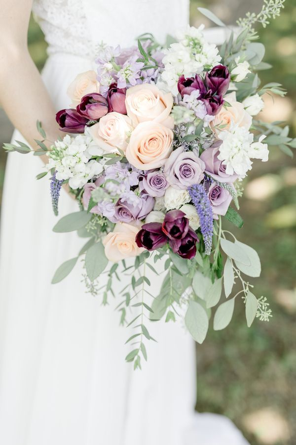 Lilac & Gold Tangled Inspired Wedding Styled Shoot|Photographer: Ariel Kaitlin Photography, LLC