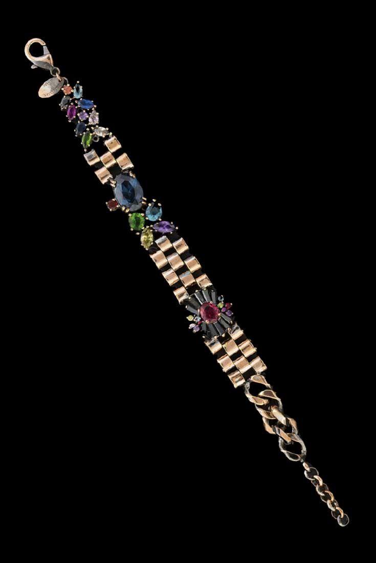 Mandala Multi chain bracelet #IOSSELLIANI