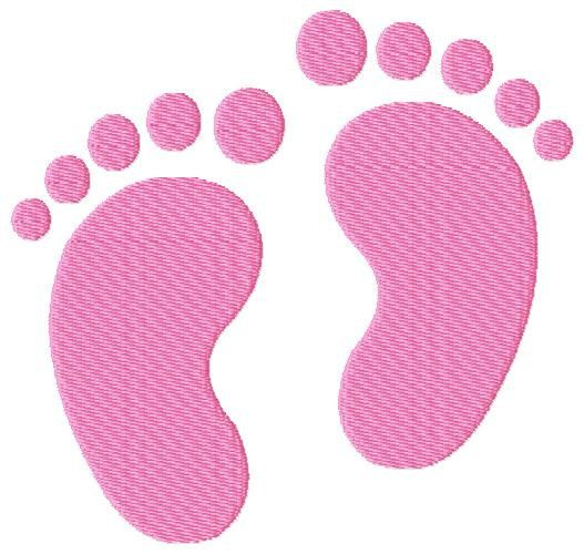 baby feet footprints machine embroidery design furniture baby feet and machine embroidery. Black Bedroom Furniture Sets. Home Design Ideas