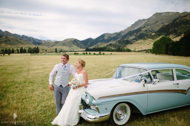 bride & groom @ The Lookout Lodge
