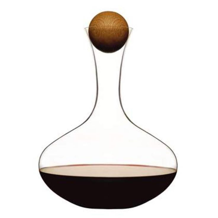 Oval Oak — #wine carafe SAGAFORM || #christmas #gift #ideas