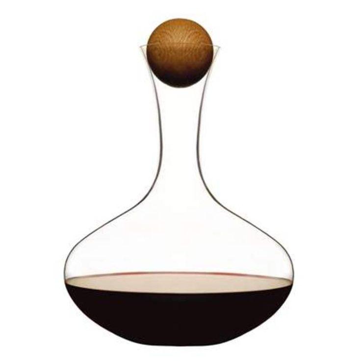 Oval Oak — #wine carafe SAGAFORM || #christmas #gift #ideas