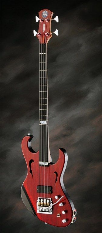 Lardy Fatboys Chordophone of the Day — Browns Guitar Factory fretted/less Bass