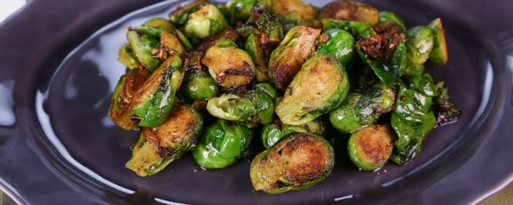 Clinton Kelly's Caramelized Brussels Sprouts Recipe by Clinton Kelly - The Chew