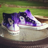 Custom Dip Dye Shoes