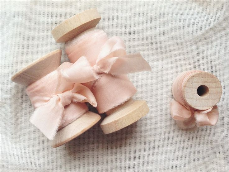 Hand-dyed & frayed silk ribbon, crafted in France | Frou Frou Chic