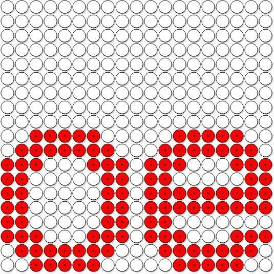 letter oe (strijkparels)
