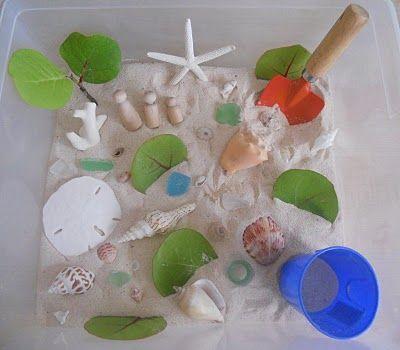 Beach Sensory Tub!