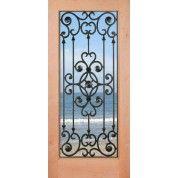 Knotty Alder 1-Lite Door | Savannah | ETO Doors