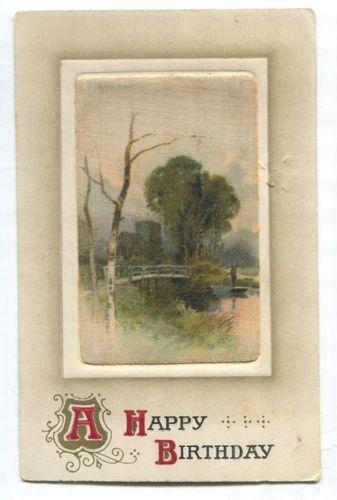 Canada #89ii 1c Grey Green on 1910 Local Multicoloured Birthday Postcard - VF-81 in Stamps, Canada, Used | eBay