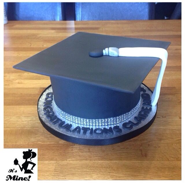 Image result for how to make a graduation cap cake topper